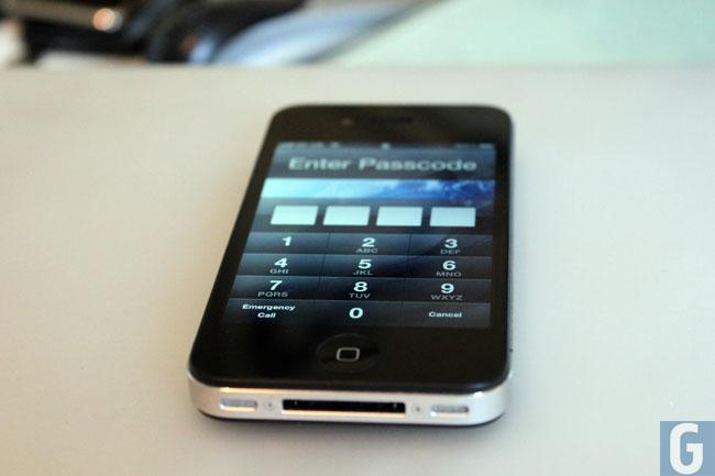 iOS 6.1 Passcode