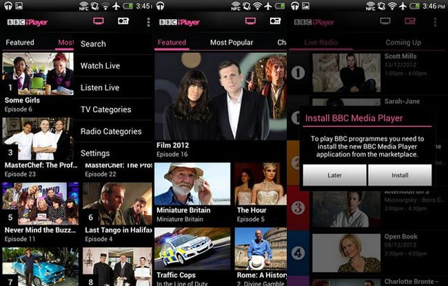 iPlayer Android