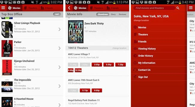 MoviePass Android