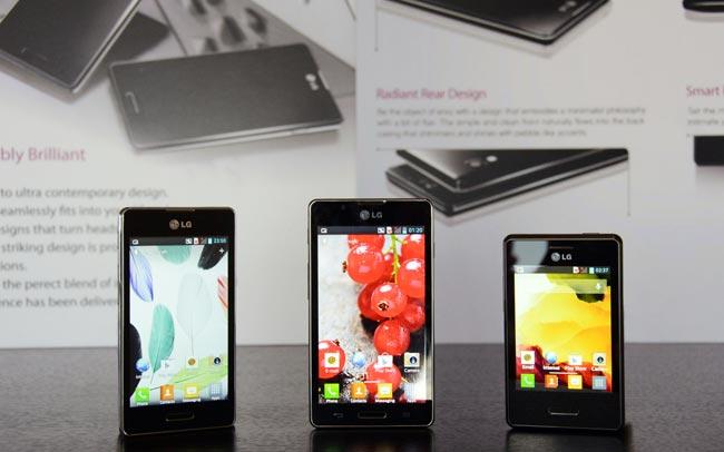 LG Optimus L7 And L5
