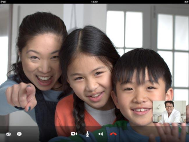 Skype iPad