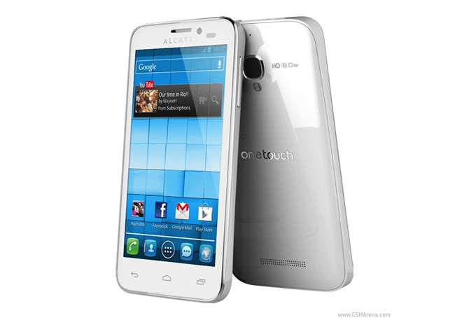 alcatel one touch snap smartphones unveiled at mwc. Black Bedroom Furniture Sets. Home Design Ideas