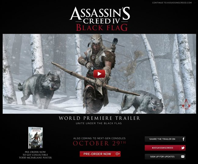 Assassins Creed 4 Black Flag Release Date