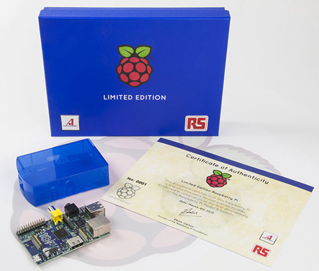 Blue-Raspberry-Pi