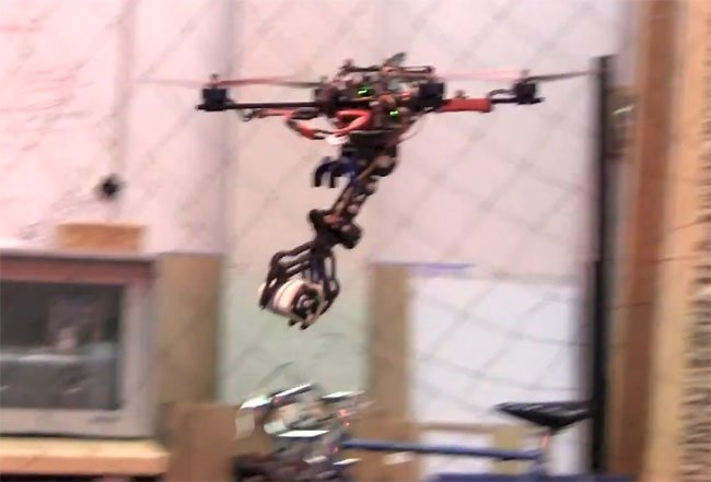 Drones Fitted With Claws