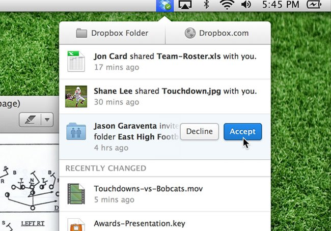 Dropbox 2 0 For Mac Adds New Menu Bar Navigation And Quick Share Links
