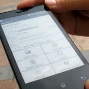 E Ink Android Phone Prototype Unveiled by Onyx (video)