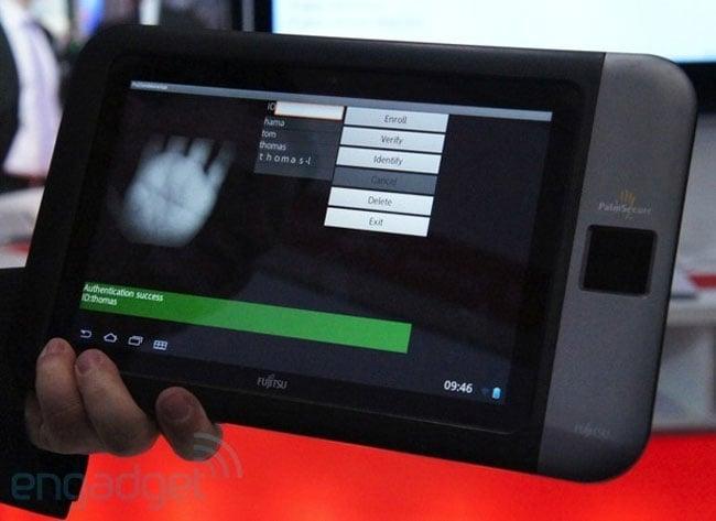Fujitsu Palm Reader Tablet