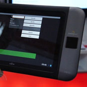 Fujitsu Palm Reader Tablet Prototype Unveiled At CeBit