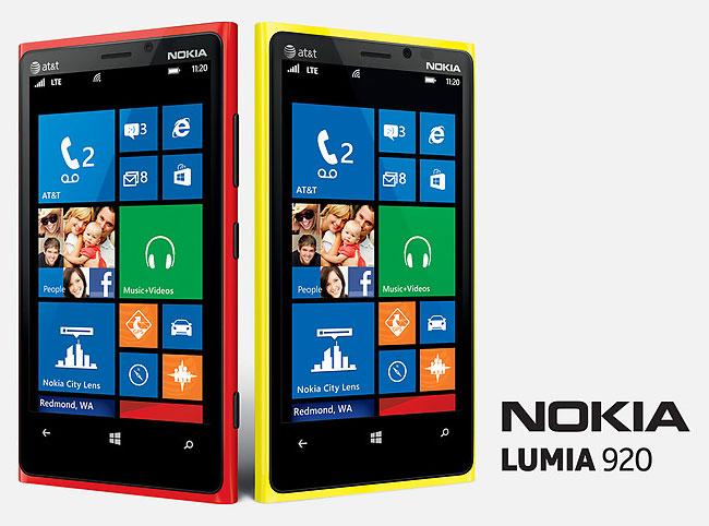Galaxy S3 vs Lumia 920