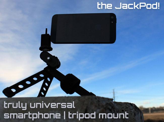 JackPod Smartphone Tripod Mount