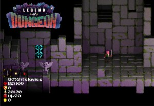 Kickstarted Legend of Dungeon Game On Now On PC, Mac, Linux (video)