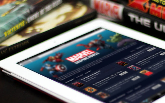 Marvel Unlimited iPad