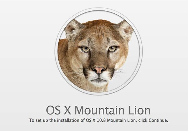OS X 10.8.3 Mountain Lion