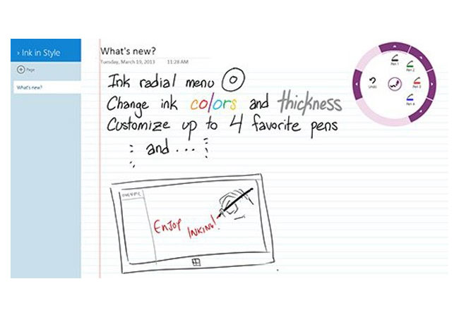 OneNote Windows 8