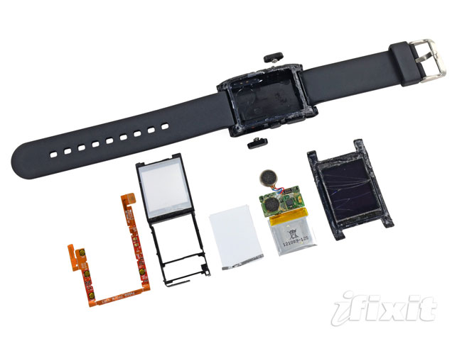 Pebble Smartwatch Teardown
