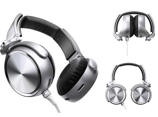 Sony MDR-XB910 Aluminium Headphones Offer Extreme Sub-Bass