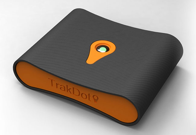 Trakdot-Luggage-tracker