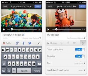 YouTube Capture iOS App Update Adds iPad Support