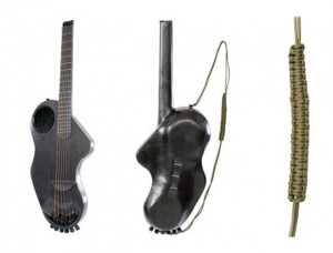 Carbon Fiber Alpaca Guitar is Designed to Survive the Road