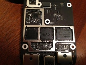 Apple TV Comes With New Smaller A5 Processor