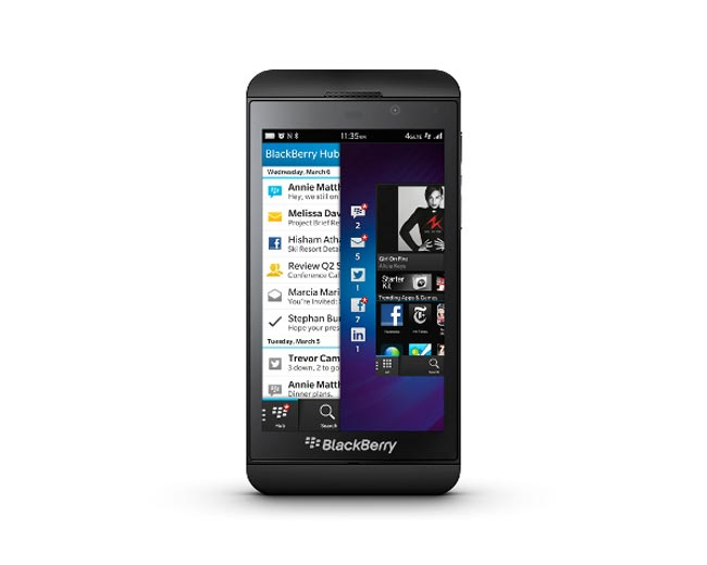 BlackBerry Z10 AT&T Release Date