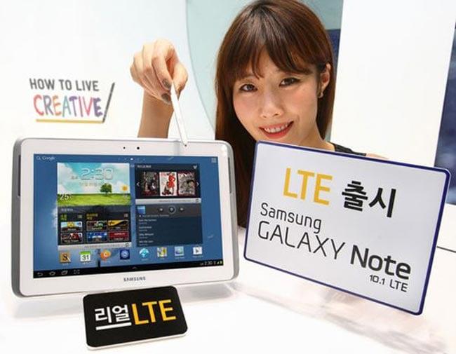 Samsung Galaxy Note 10.1 LTE Verizon Release Date