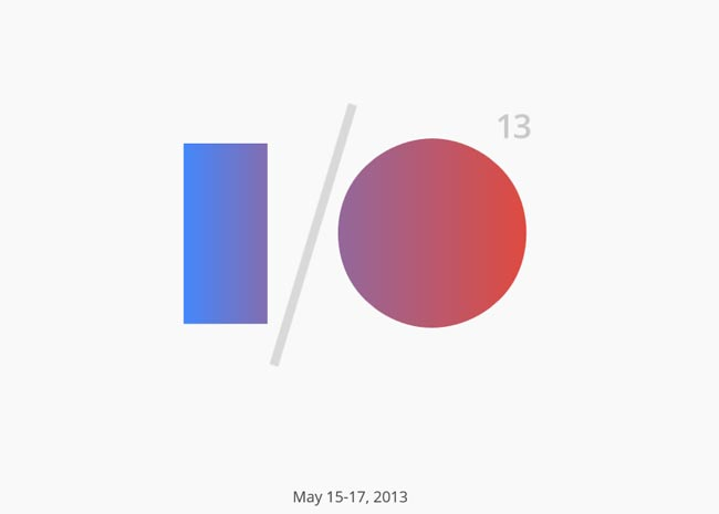 Google I/O 2013 Website Features Easter Eggs