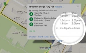 Google Maps Gets Live Transit Information In More Cities
