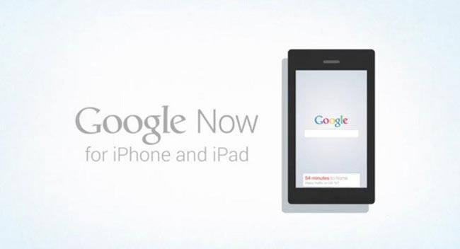 Google Now iPhone