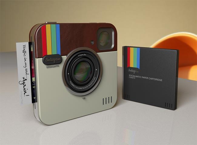 Instagram concept camera