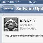 iOS 6.1.3 Update Released To Fix iPhone Passcode Bug