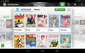 Lekiosk Brings 3D Newstand To Asus Android Tablets