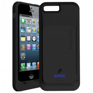 PowerSkin Silicone Battery Case for iPhone 5 Ships
