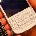 White BlackBerry Q10 Appears On Video