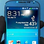 Samsung Galaxy S4 Hands On (Video)