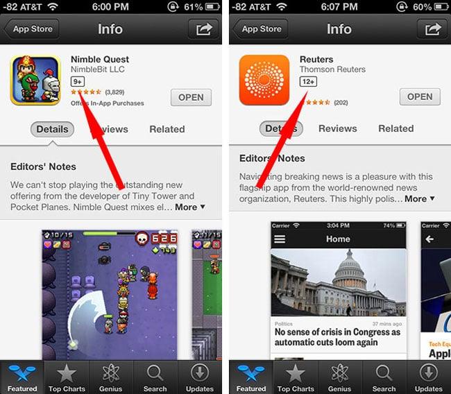 Apple App Age Ratings