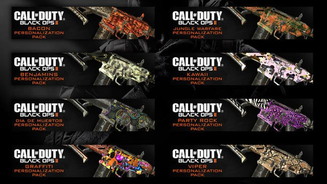 Black Ops 2 Personalization Pack