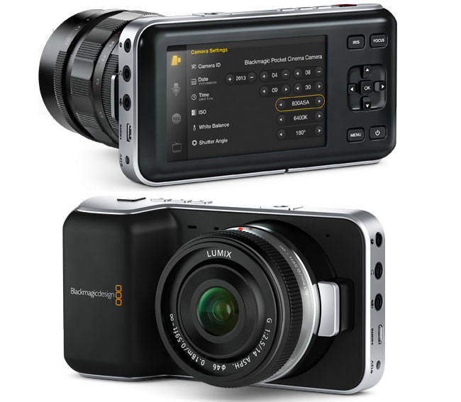 Blackmagic Pocket Cinema Camera Unveiled At NAB
