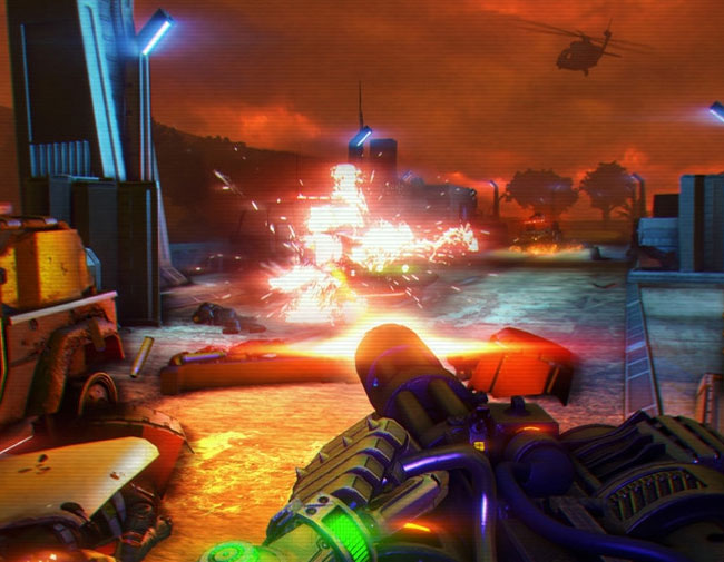 Far Cry 3 Blood Dragon Gameplay Footage Leaks Online Videos