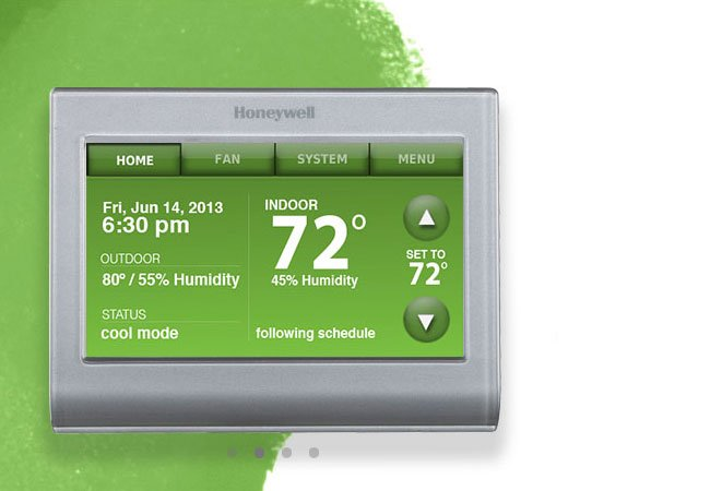 Honeywell Smart Thermostat Unveiled With Wifi Support Video