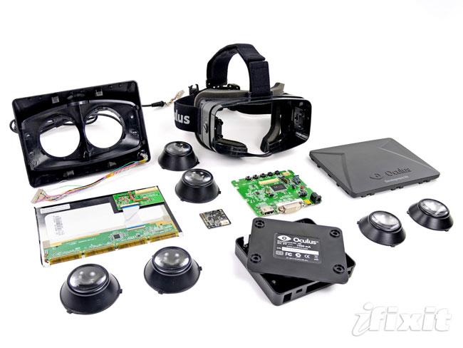 Oculus Rift Virtual Reality Headset Teardown By iFixit