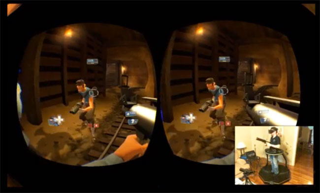 Oculus Rift And The Omni Treadmill Provide True VR Experience (video)