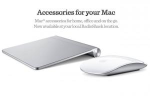RadioShack Starts Selling Apple Mac Accessories