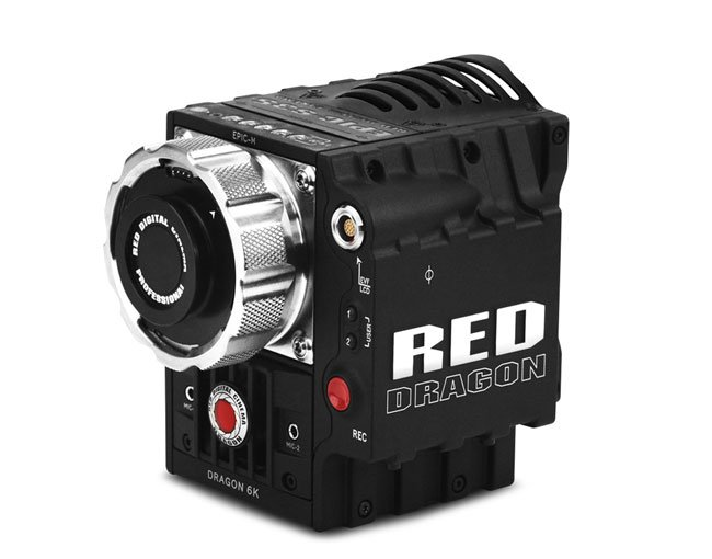 Red Epic Dragon Sensor