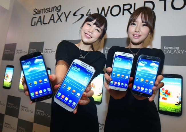 bán samsung galaxy s4 (i9500) mới 100% giá khuyến mãi.