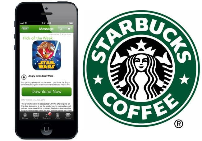 Starbucks iOS App