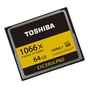 Toshiba Exceria Pro 4K Ultra HD Compact Flash Cards Launch Offering 160MBs Transfers