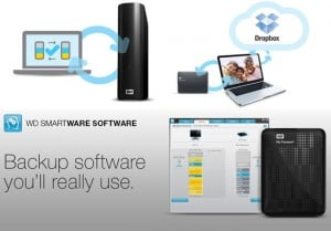 WD SmartWare Pro Backup Software With Dropbox Integration Launches