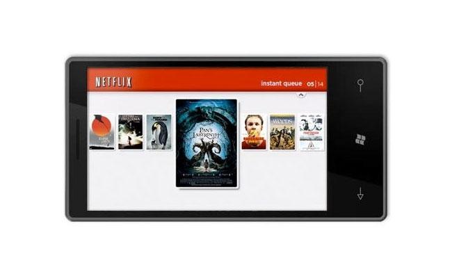 Windows Phone Netflix